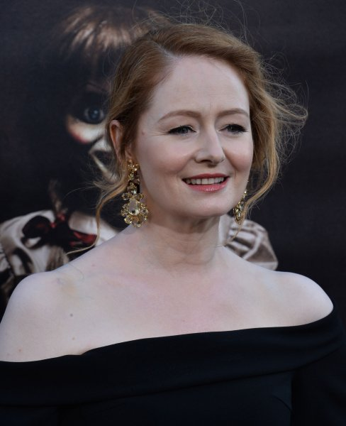 Cast member Miranda Otto attends the premiere of Annabelle: Creation in Los Angeles on August 7. Photo by Jim Ruymen/UPI