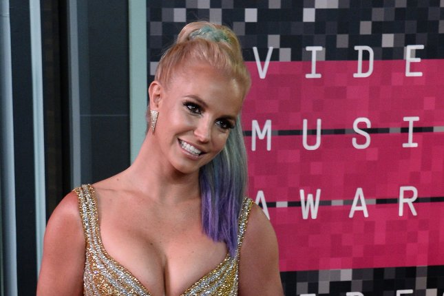 Britney Spears at the MTV Video Music Awards on Aug. 30, 2015. File Photo by Jim Ruymen/UPI