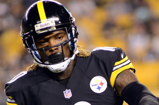 Pittsburgh Steelers wide receiver Martavis Bryant (10). Photo by Archie Carpenter/UPI