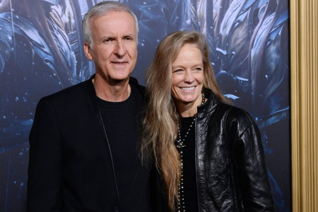 Avatar filmmaker James Cameron and his wife, actress Suzy Amis, attend the premiere of The Hobbit: The Battle of Five Armies in Los Angeles on December 9, 2014. File photo by Jim Ruymen/UPI
