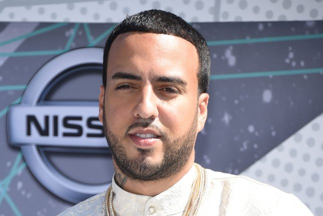 Rapper French Montana attends the 16th annual BET Awards on June 26. Montana and girlfriend Iggy Azalea came under fire for posting pictures with an elephant that was delivered to Montana's backyard for his birthday on Thursday. File Photo by Phil McCarten/UPI