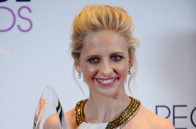 Sarah Michelle Gellar wished Freddie Prinze, Jr., a happy 42nd birthday in a joking message on Instagram. File Photo by Jim Ruymen/UPI
