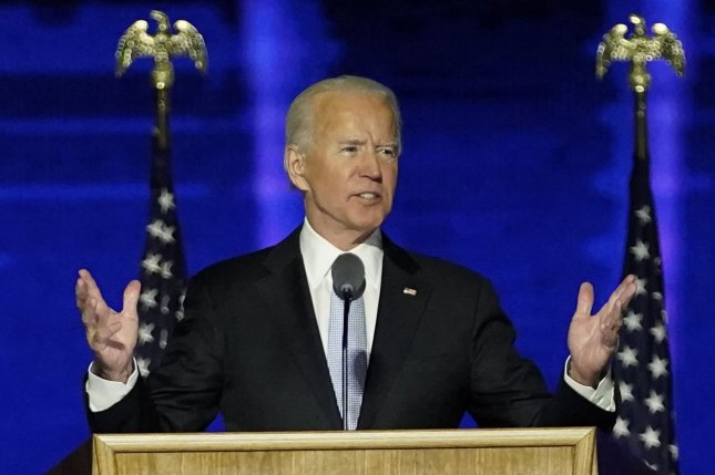 Officials at the Office of the Director of National Intelligence said President Donald Trump has agreed to allow President-elect Joe Biden to begin receiving the President's Daily Brief. Pool photo by Andrew Harnik/UPI