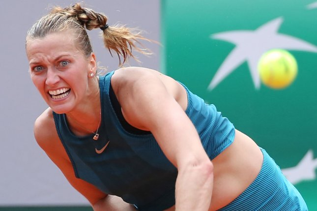 Petra Kvitova became the second Top 12 player in two days to withdraw from the 2021 French Open on Tuesday in Paris. File Photo by David Silpa/UPI