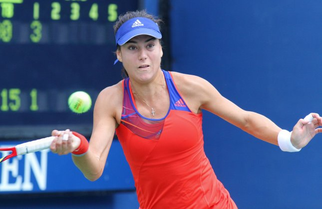 Sorana Cirstea, shown at last year's U.S. Open, was among the first-round winners Tuesday at the WTA's PTT Pattaya Open tournament in Thailand. UPI Photo/Monika Graff