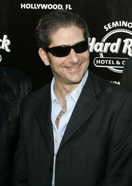 Michael Imperioli (Christopher Moltisanti) arrives for the Sopranos final episode viewing at the Seminole Hard Rock Hotel and Casino in Hollywood, Florida on June 10, 2007. (UPI Photo/Michael Bush)
