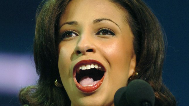 Erika Harold is running for Congress as a Republican from Illinois. (UPI Photo/Roger L. Wollenberg)