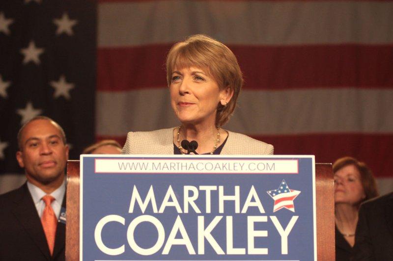 Massachusetts Attorney General Martha Coakley. UPI/Ryan T. Conaty