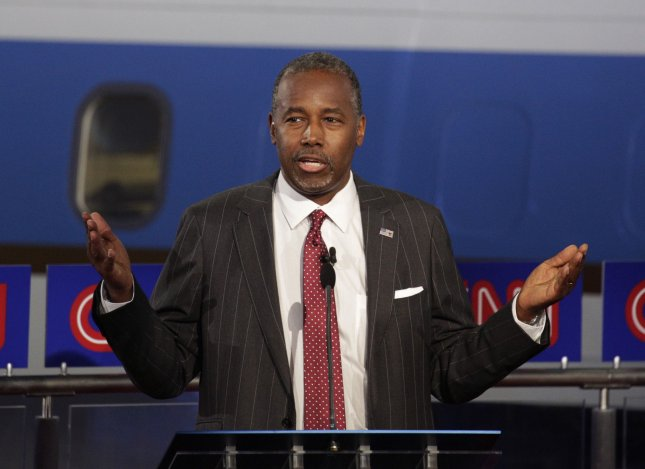 Ben Carson suggested a government like that of Nazi Germany could exist in the United States. Photo by Max Whittaker/UPI/Pool