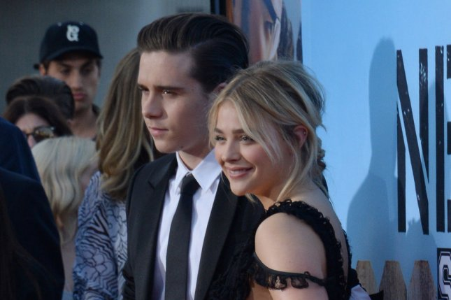 Chloe Grace Moretz (R) and Brooklyn Beckham at the Los Angeles premiere of Neighbors 2: Sorority Rising on Monday. Photo by Jim Ruymen/UPI
