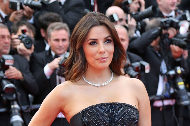 Eva Longoria at the Cannes International Film Festival screening of Money Monster on May 12. The actress will receive a star on the Hollywood Walk of Fame in 2017. File Photo by David Silpa/UPI