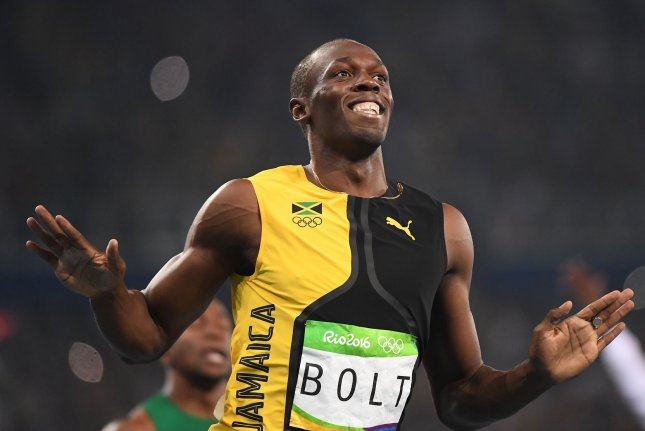 Jamaica's Usain Bolt wins the Men's 100M Final with a time of 9.81 in the Olympic Stadium at the 2016 Rio Summer Olympics in Rio de Janeiro, Brazil, on August 14, 2016. Photo by Terry Schmitt/UPI