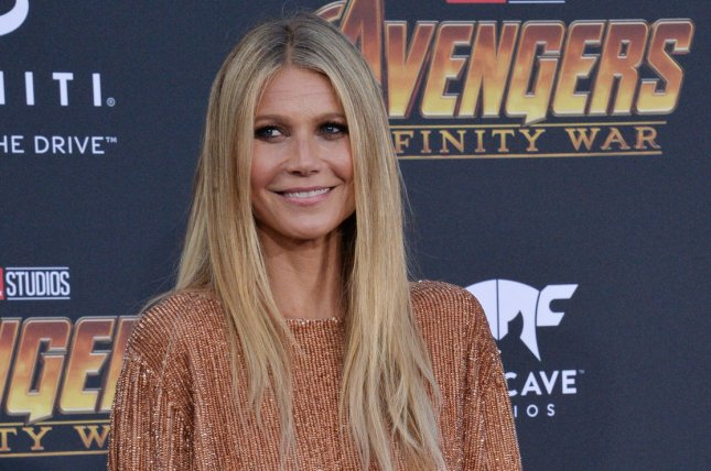 Gwyneth Paltrow shared a photo of her wedding ring after marrying Brad Falchuk in New York. File Photo by Jim Ruymen/UPI