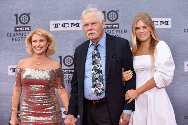 The TCM Classic Movie Festival returns to Hollywood in April 2020. Ted Turner (center), his granddaughter Laura Elizabeth Seydel (R) and Mimi Bean arrive for the 10th annual TCM Classic Film Festival opening night screening of When Harry Met Sally in 2018. File Photo by Chris Chew/UPI