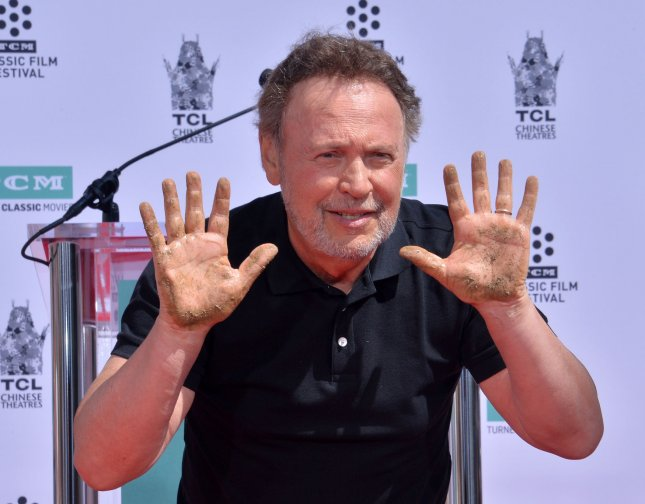Actor and comedian Billy Crystal will star in and direct the comedy film, Here Today. File Photo by Jim Ruymen/UPI