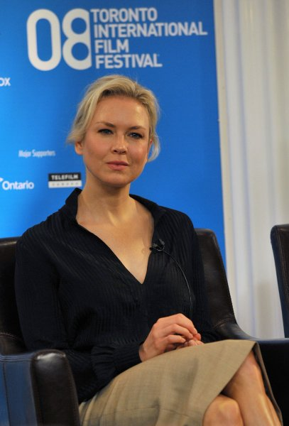 Renee Zellweger attends the Toronto International Film Festival press conference for Appaloosa at the Sutton Place Hotel in Toronto, Canada on September 5, 2008. (UPI Photo/Christine Chew)