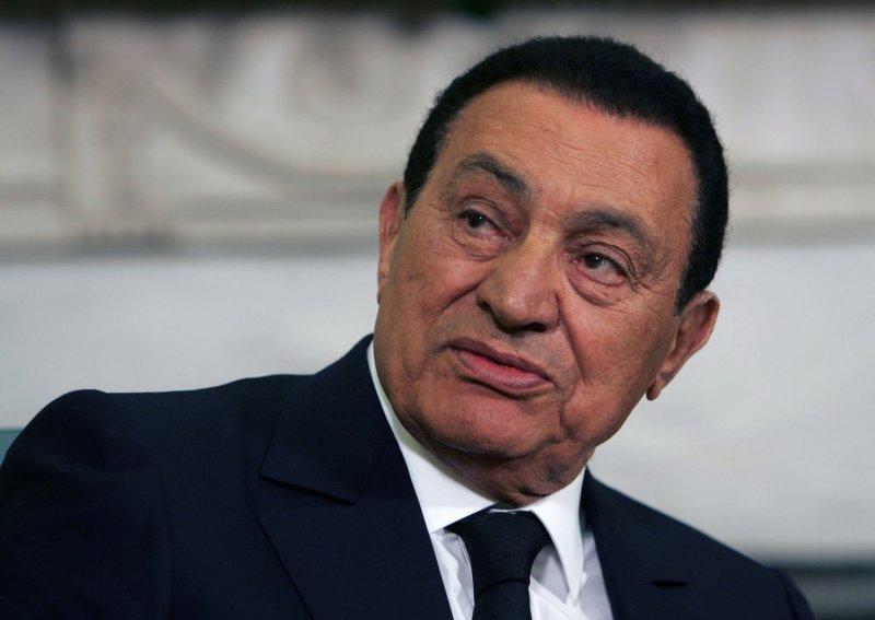 Egyptian President Hosni Mubarak, shown Aug. 18, 2009, in Washington. UPI/Dennis Brack/Pool
