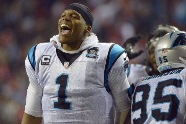 The Carolina Panthers and quarterback Cam Newton try to remain unbeaten when they host the Philadelphia Eagles on Sunday at Bank of America Stadium in Charlotte. File photo David Tulis/UPI