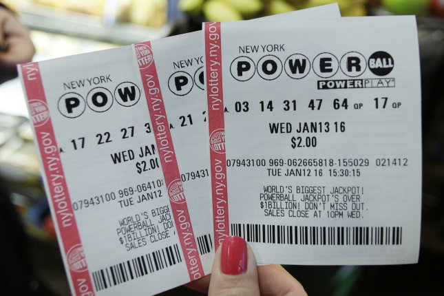 Powerball lottery tickets with the jackpot at 1.5 billion dollars January 12, 2016. The largest lottery prize in U.S history. Photo by John Angelillo/UPI