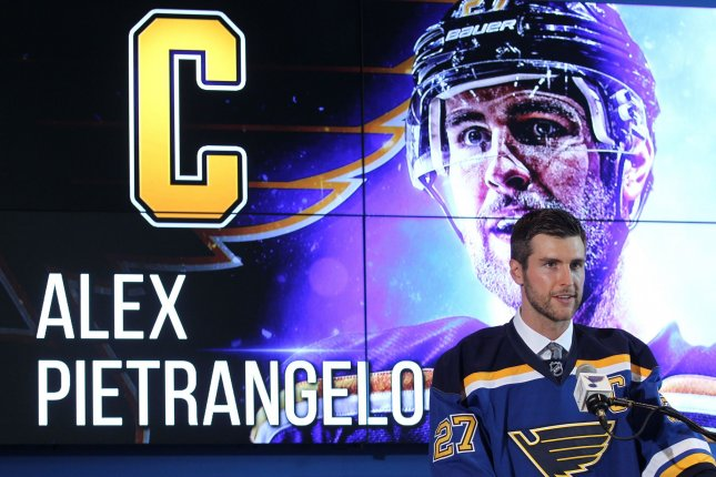finest selection 1988d 13920 Alex Pietrangelo named captain by St. Louis Blues - UPI.com