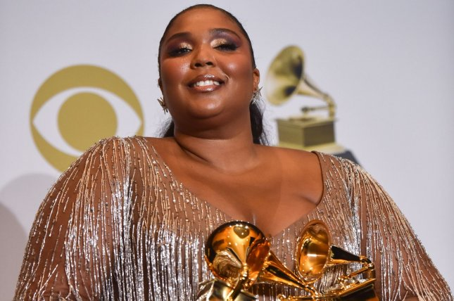 Lizzo appears backstage during the 62nd annual Grammy Awards on January 26 The Recording Academy announced changes to the Grammy Awards including the renaming of the Best Urban Contemporary Album category. File Photo by Christine Chew/UPI