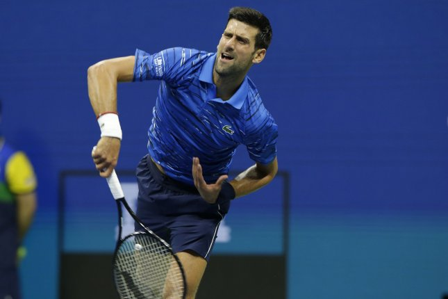 No 1 Novak Djokovic Now Open To Compete In U S Open Upi Com