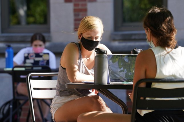 Young adults are driving new infections in many parts of the country, the Centers for Disease Control and Prevention said. File Photo by Bill Greenblatt/UPI