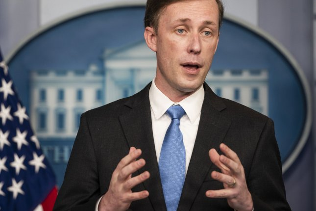National Security Advisor Jake Sullivan on Sunday said President Joe Biden was committed to diplomacy in negotiating with Iran on nuclear arms and the detention of Americans. Photo by Jim Lo Scalzo/UPI