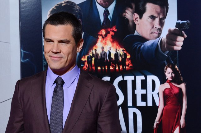 Josh Brolin, a cast member in the motion picture crime drama Gangster Squad, attends the premiere of the film at Grauman's Chinese Theatre in the Hollywood section of Los Angeles on January 7, 2013. UPI/Jim Ruymen