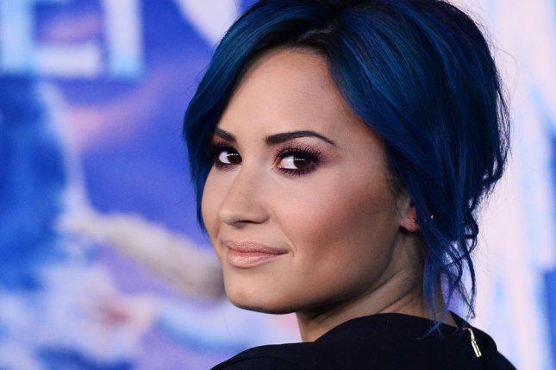 Demi Lovato. UPI/Jim Ruymen
