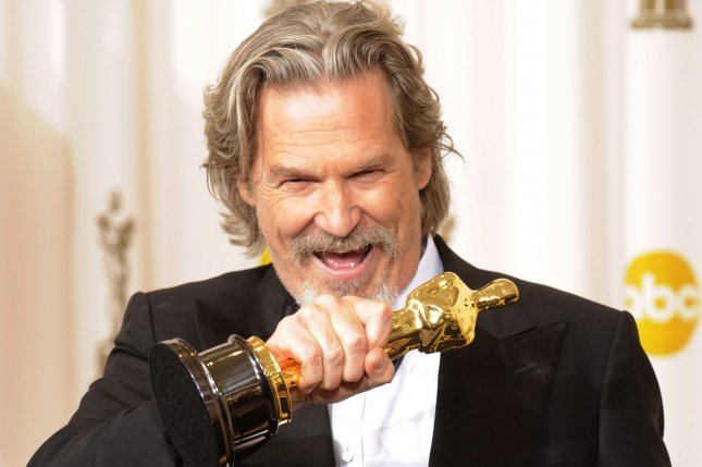 Jeff Bridges is just fine with his Oscar, thanks. The actor says he won't run for U.S. Senate. UPI/Phil McCarten