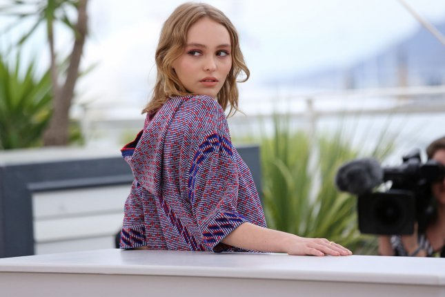 Lily-Rose Depp arrives at a photocall for the film La Danseuse (The Dancer) during the 69th annual Cannes International Film Festival on May 13, 2016. Depp has been named the face of Chanel No. 5 L'Eau. Photo by David Silpa/UPI