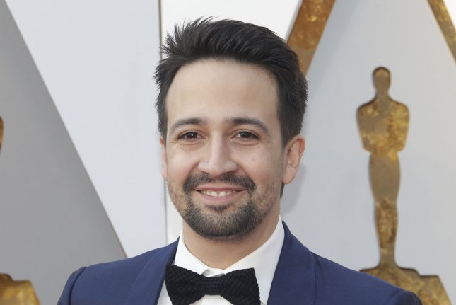 Lin-Manuel Miranda will be receiving a star on the Hollywood Walk of Fame. File Photo by John Angelillo/UPI