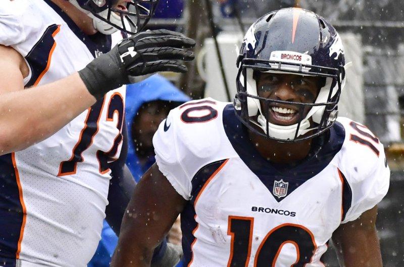 quality design 669bc cae6f Watch: Broncos' Emmanuel Sanders shines, 49ers' Jimmy ...