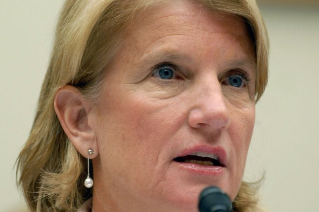 Rep. Shelley Moore Capito, R-WV, testifies before a House Education and Labor Committee hearing on the Mine Safety and Health Administrations mine safety programs on Capitol Hill in Washington on May 16, 2007. (UPI Photo/Roger L. Wollenberg)