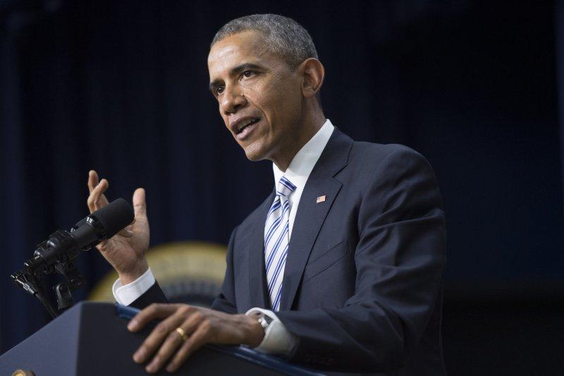 President Barack Obama vetoed Keystone XL pipeline legislation Tuesday. Photo by Kevin Dietsch/UPI