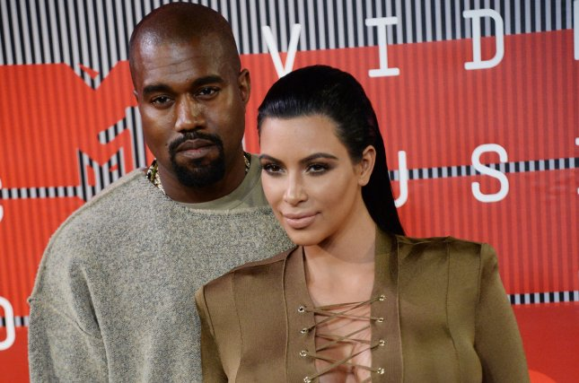 Kanye West and Kim Kardashian arrive on the red carpet for the 32nd annual MTV Video Music Awards at Microsoft Theater in Los Angeles on Aug. 30, 2015. Photo by Jim Ruymen/UPI