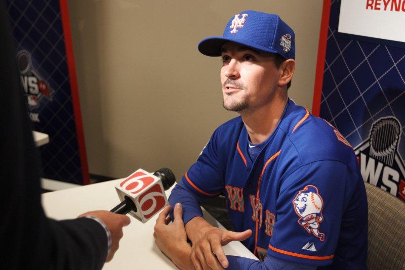 New York Mets shortstop Matt Reynolds (56). PI/Jeff Moffett