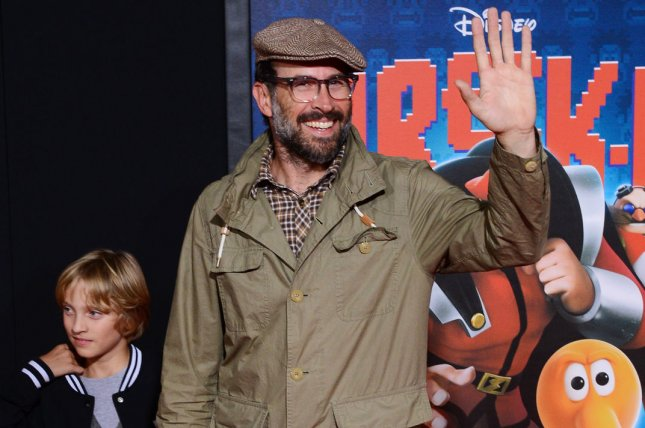 Jason Lee attends the premiere of Wreck-It Ralph on October 29, 2012. Lee has stated that he has left the Church of Scientology in a new interview. File Photo by Jim Ruymen/UPI