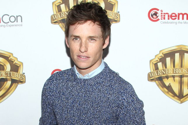 Fantastic Beasts and Where to Find Them star Eddie Redmayne arrives for the Warner Bros. Pictures Presentation at CinemaCon 2016 on April 12, 2016. File Photo by James Atoa/UPI
