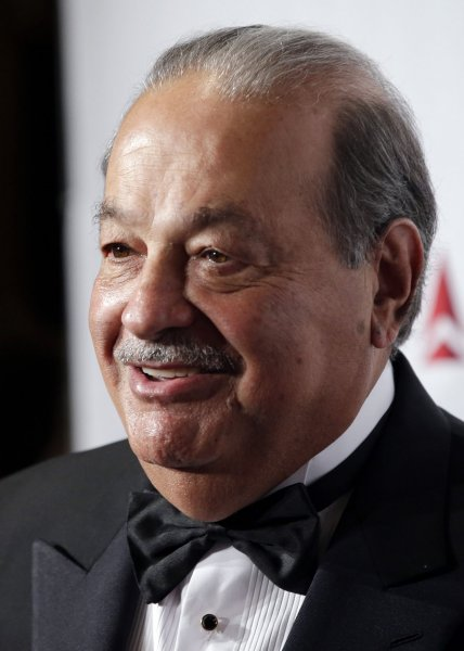 Mexican billionaire Carlos Slim recently had dinner with U.S. President-elect Donald Trump in Palm Beach. File Photo by John Angelillo/UPI
