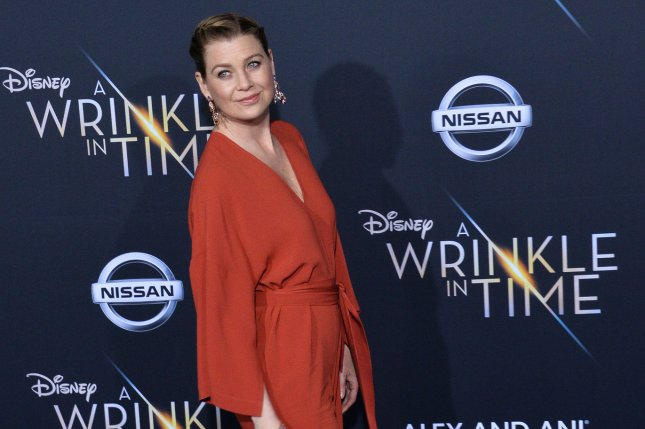 Ellen Pompeo said she had her purse stolen in Italy. File Photo by Jim Ruymen/UPI