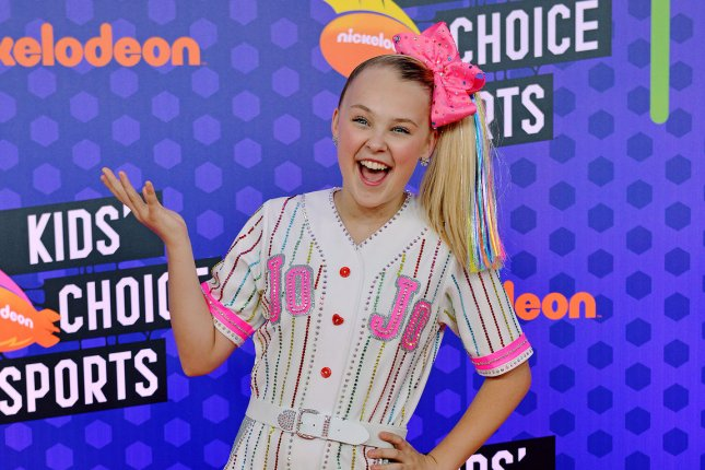 JoJo Siwa reunited with Abby Lee Miller in a new video. File Photo by Christine Chew/UPI