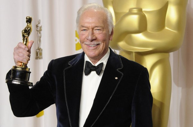 Christopher Plummer has died at the age of 91, his friend and manager Lou Pitt has confirmed. File Photo by Phil McCarten/UPI