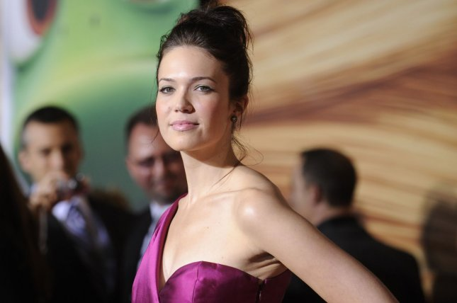 Cast member Mandy Moore attends the premiere of the animated film Tangled at the El Capitan Theatre in the Hollywood section of Los Angeles on November 14, 2010. UPI/Phil McCarten