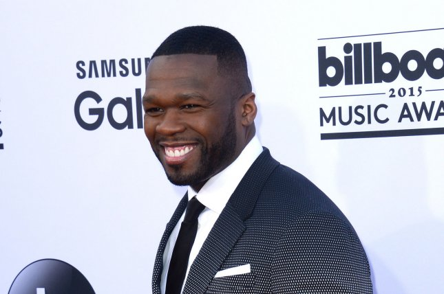 Rapper 50 Cent has been ordered to pay $7 million to a woman whose sex tape he posted online. Photo by Jim Ruymen/UPI