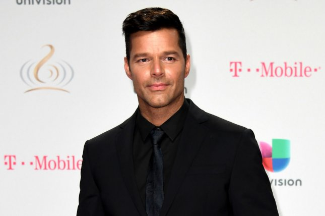 Ricky Martin attends the Univision Premio Lo Nuestro a La Música Latina show on February 23. The singer discussed his upcoming nuptials in the October issue of Ocean Drive. File Photo by Gary I. Rothstein/UPI