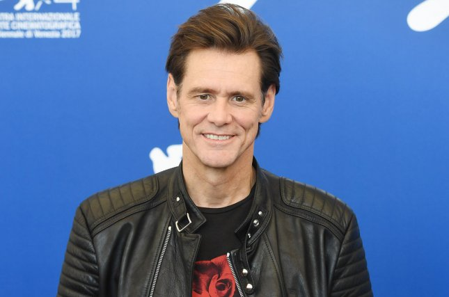 Jim Carrey discussed his experience channeling his idol Andy Kaufman in the 1999 biopic Man on the Moon in the trailer for Netflix's upcoming documentary Jim and Andy: The Great Beyond. File Photo by Rune Hellestad/ UPI