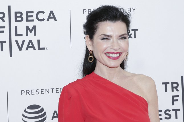 Julianna Margulies will guest star on the Showtime series Billions. File Photo by John Angelillo/UPI