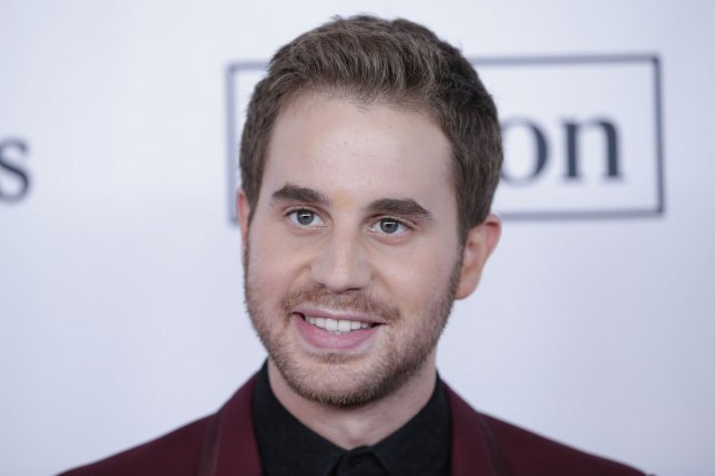 Ben Platt has been deemed the Hasty Pudding Theatricals' Man of the Year. File Photo by John Angelillo/UPI